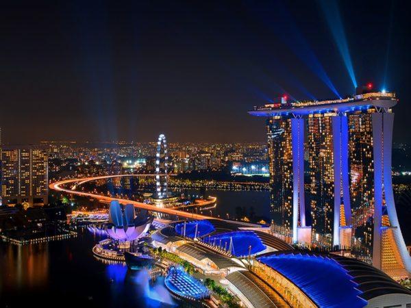 Anh dep tai Singapore