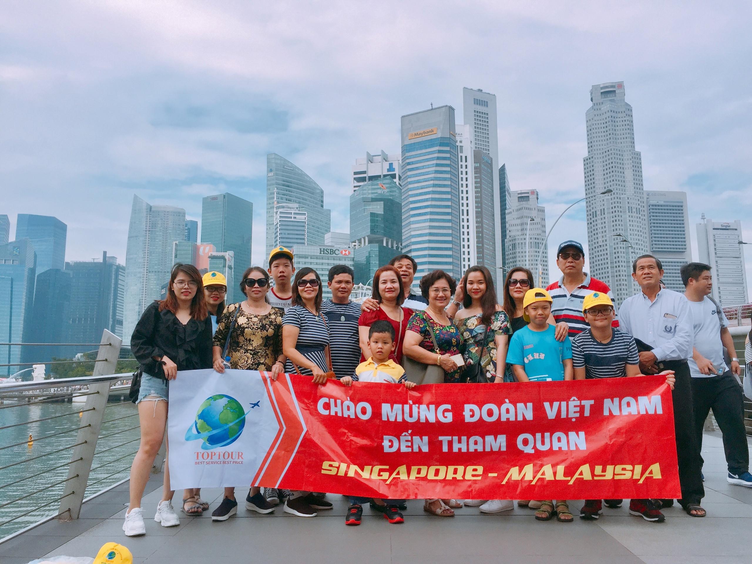 Giảm tới 43% Tour Singapore Malaysia 5 ngày 4 đêm trọn gói chỉ còn 7.968.000