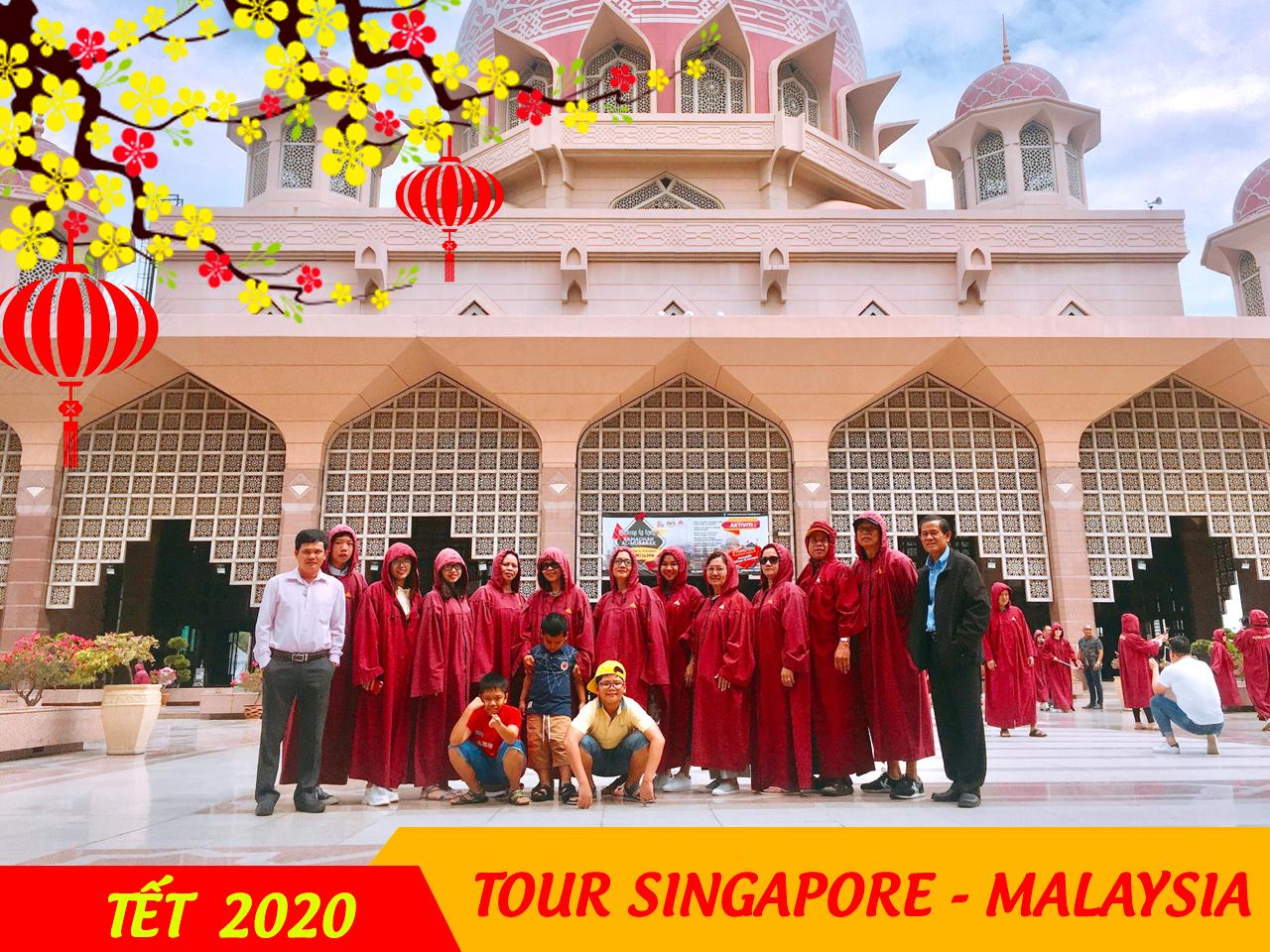 Tour Singapore Malaysia 5 ngày 4 đêm Tết Dương Lịch 2020