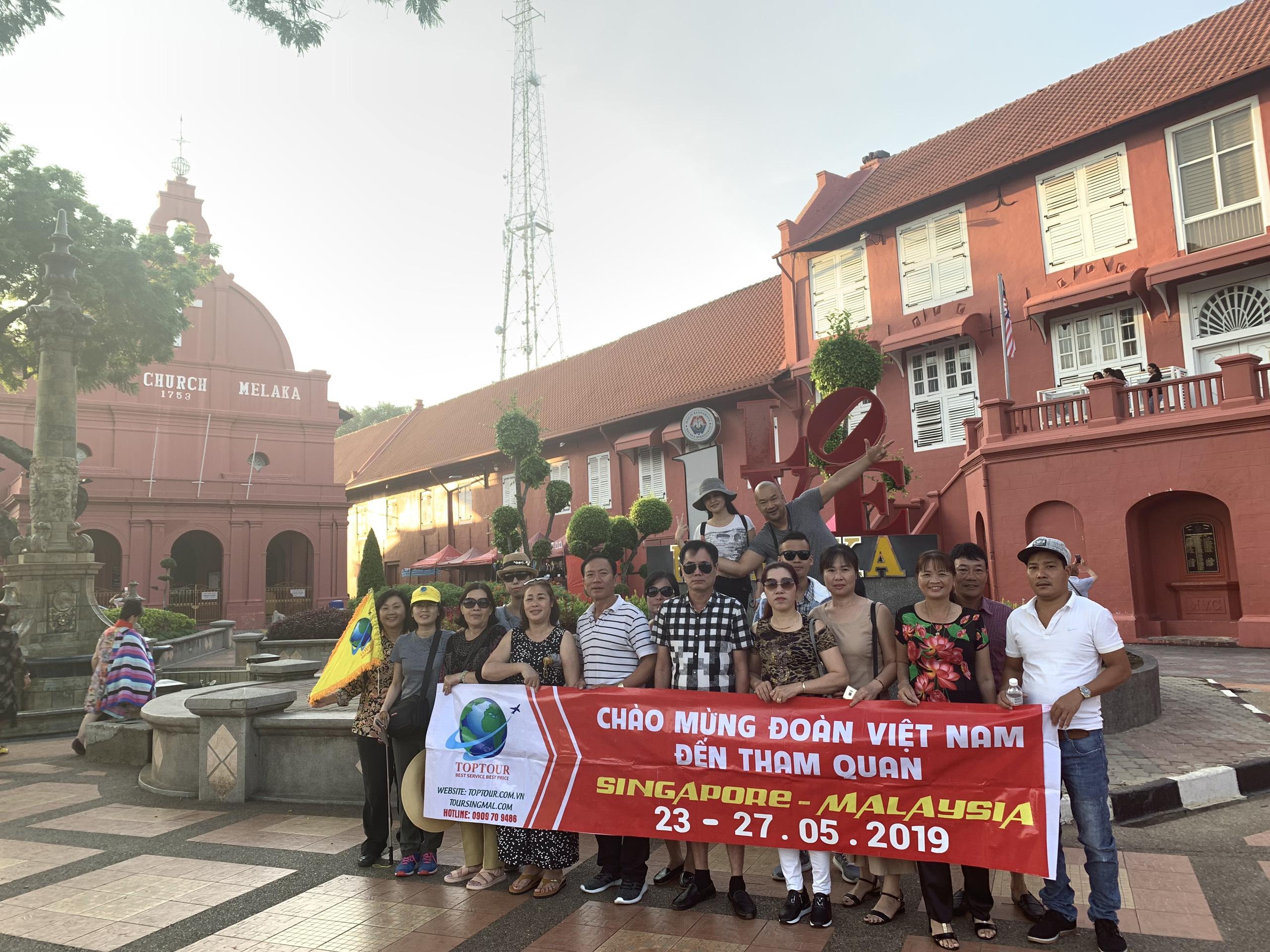 Giảm Giá Cực Sốc Tour Singapore Malaysia 5 ngày 4 đêm khỏi hành ngày 2.6.2019